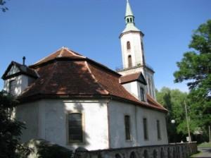 Dawny kościół ewangelicki.