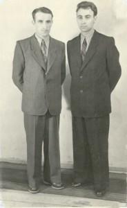 Mój tato (z prawej) z Aurelem Serafinczanem, swoim mentorem i duchowym ojcem.