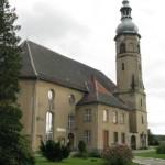 Biedrzychowice, kościół graniczny