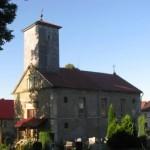 Złotniki Lubańskie, kościół graniczny