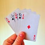 Rozegraj tym rozdaniem kart, które w życiu otrzymałeś