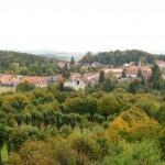 Panorama miejscowości Herrnhut
