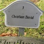 Grób Christiana Dawida w Herrnhut