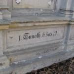 Bogactwo przeszłości, świadectwo - złotymi literami napis - 1 Tymoteusza 6.12
