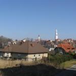 widok na miasto Gryfów Śl.