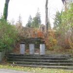 Dawne główne wejście do kościoła