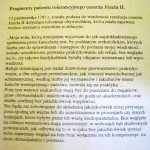 Dekret tolerancji obywatelskiej z 1781 cesarza Józefa II