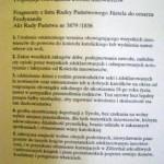 Dokument propozycji rozwiązania kwestii ewangelików