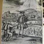 Król Fryderyk Wilhelm I wita przybyłych emigrantów salzburskich w 1732r.