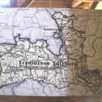 Mapa archidecezji salzburskiej