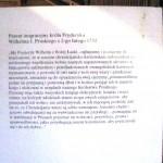 Patent imigracyjny króla Fryderyka Wilhelma I