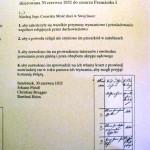 Prośba protestantów do cesarza Francszka I