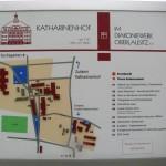 Plan Katharinenhof.