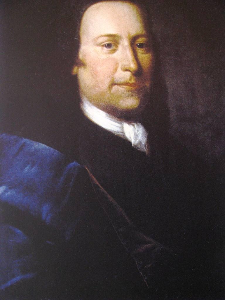 Wnuk,  Nikolaus Ludwik Graf von Zinzendorf (1700-1760).