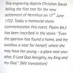 Pierwsze drzewo ścięte przez Christiana Dawida.