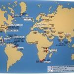 Mapa misji herrhuckich.