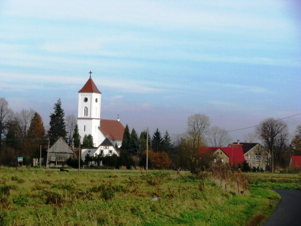 Wolimierz, Dawny kościół ewangelicki.