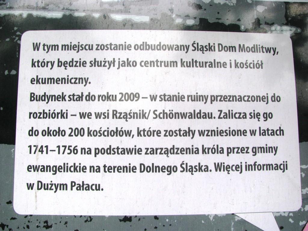 Śląski Dom Modlitwy (tzw. Bethaus)  w Łomnicy.