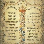 Litera symbolizująca czwarte przykazanie